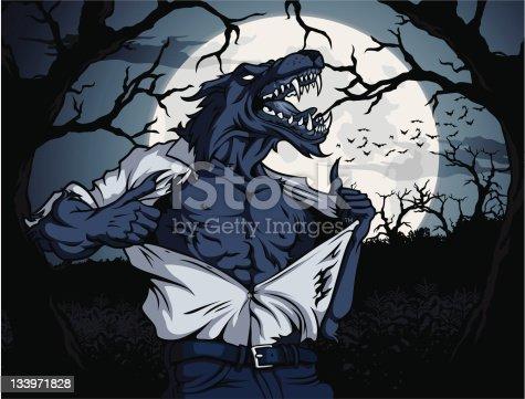 Werewolf Scene