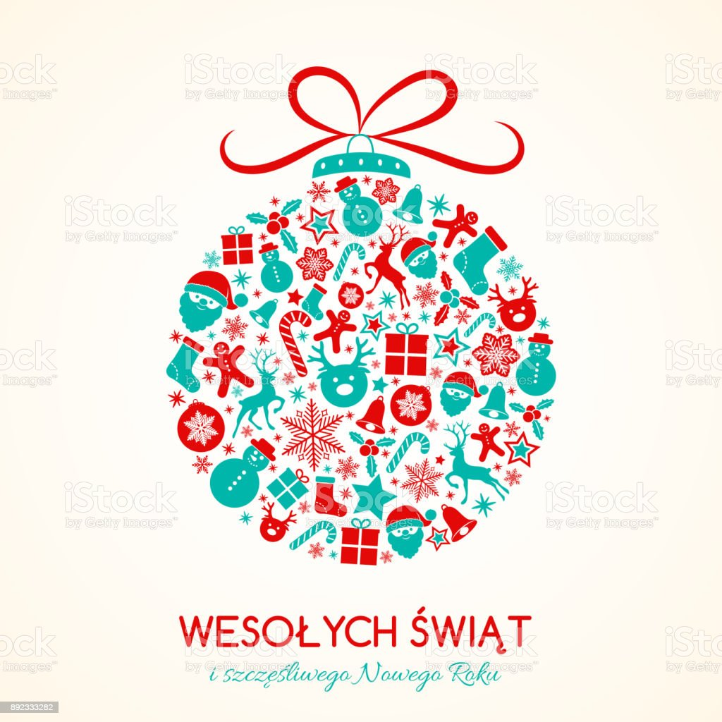 Merry Christmas In Polish.Wesolych Swiat Merry Christmas In Polish Christmas