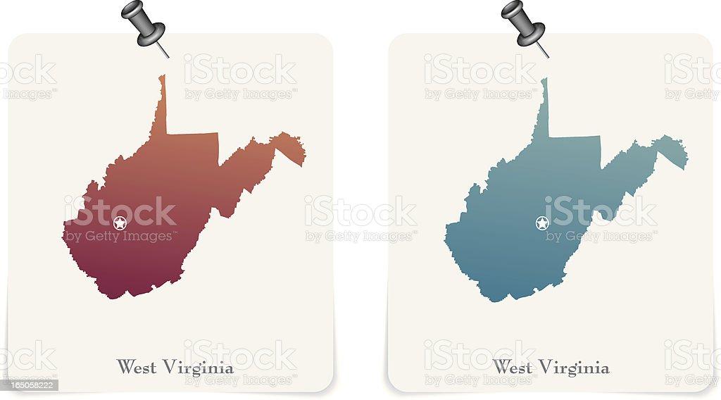 West Virginia royalty-free stock vector art