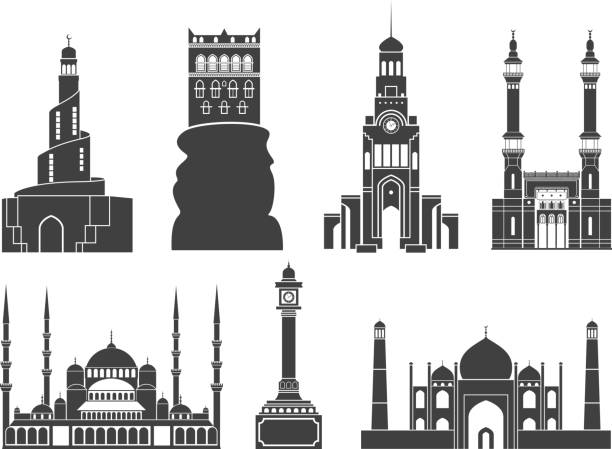 illustrations, cliparts, dessins animés et icônes de l'asie occidentale - doha