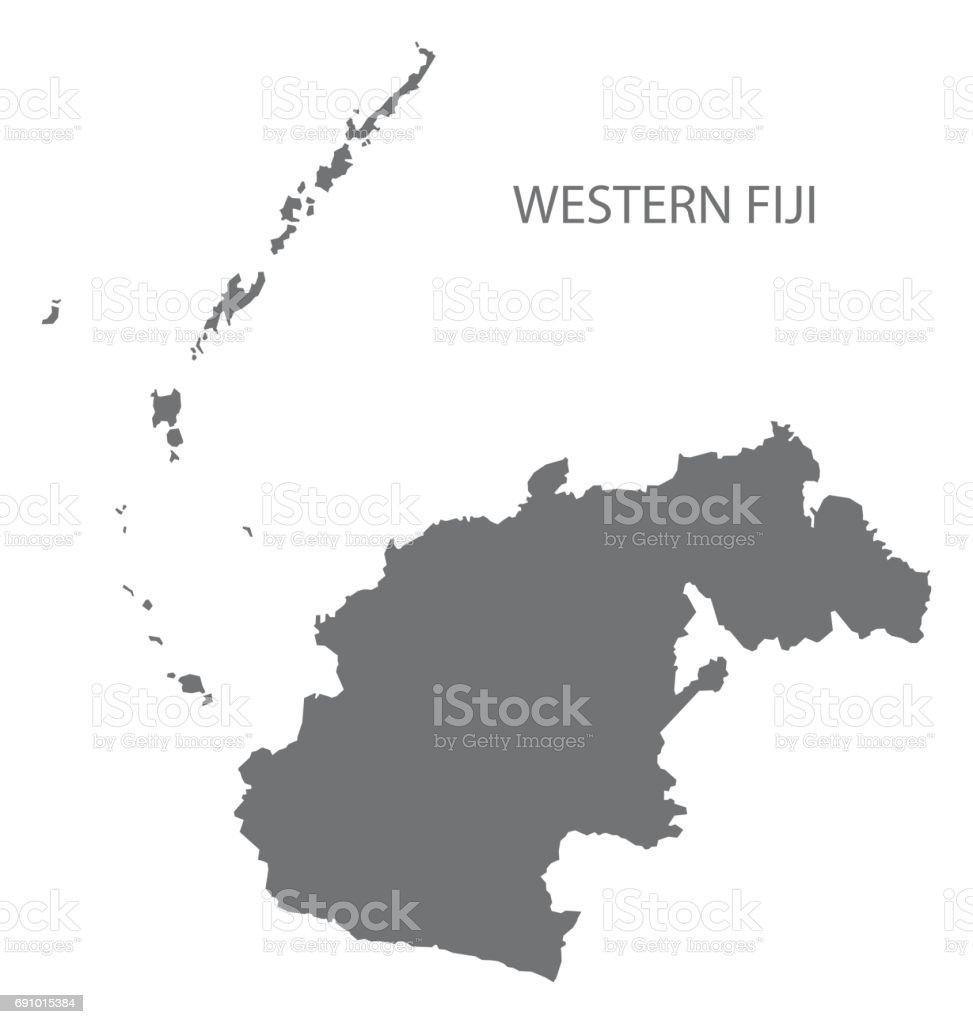 Ilustracion De Silueta De Ilustracion Gris Occidental Isla
