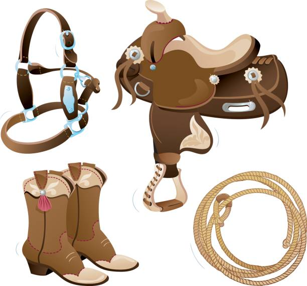 Western Horse Riding Clipart Royalty Free Ho...
