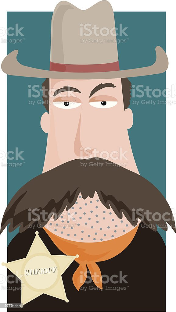 Western Sheriff royalty-free western sheriff stock vector art & more images of adult