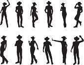 Western Silhouette Collection