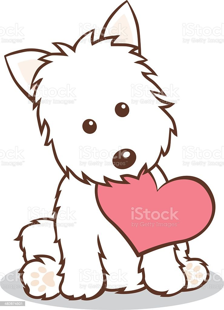 royalty free west highland white terrier clip art vector images rh istockphoto com westie clip art black and white clipart westie dogs