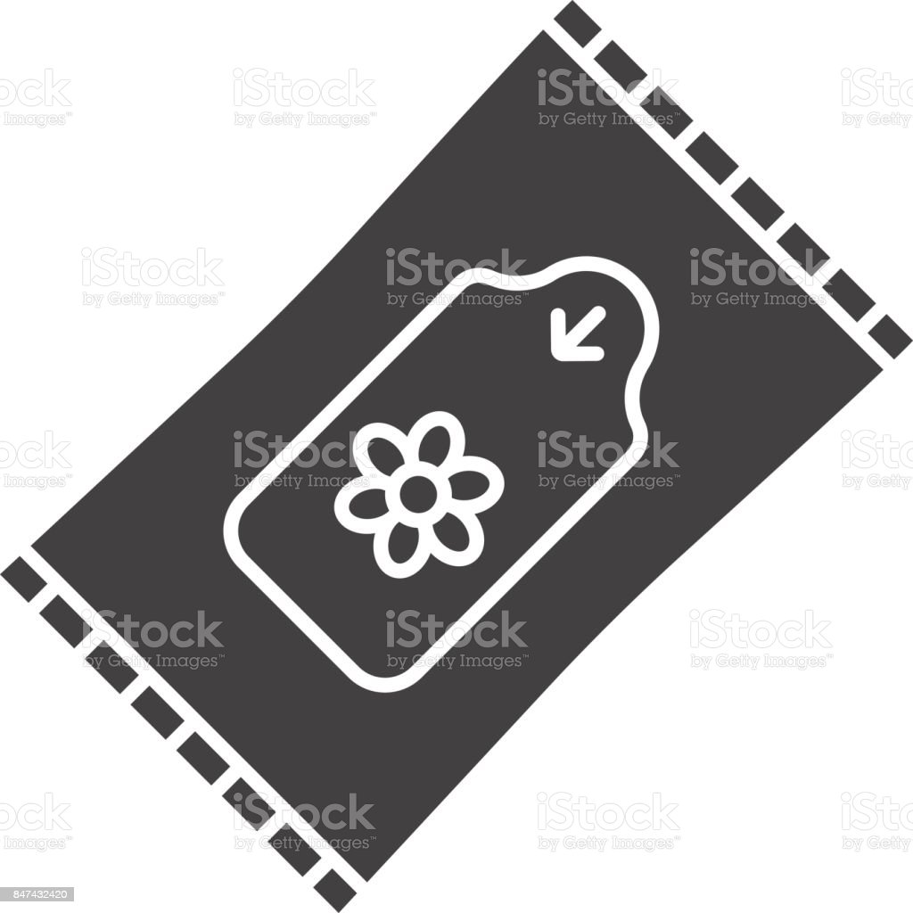 Wet Wipes Icon Stock Illustration - Download Image Now - iStock
