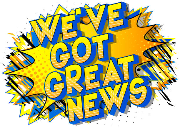 855 Exciting News Illustrations & Clip Art - iStock