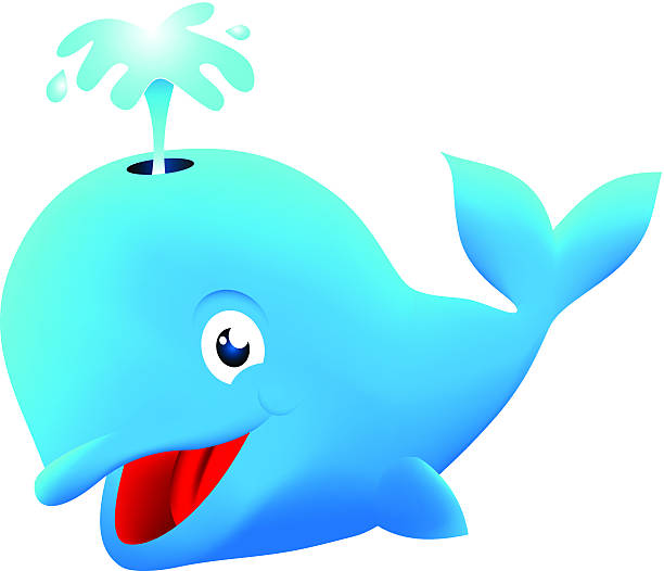 Royalty Free Cartoon Whale Clip Art, Vector Images ...