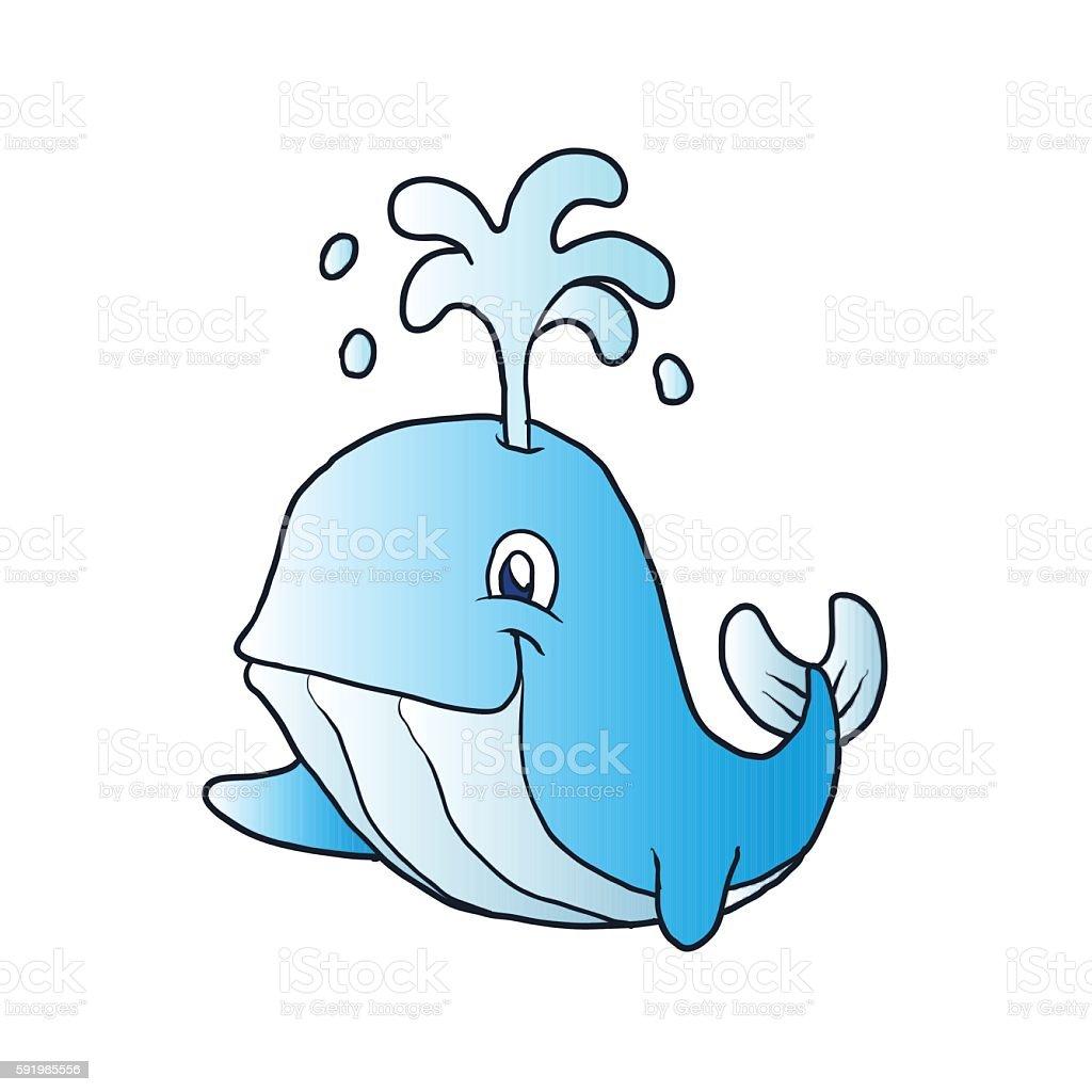 whale cartoon stock vector art 591985556 istock