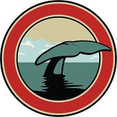 whales insignia.