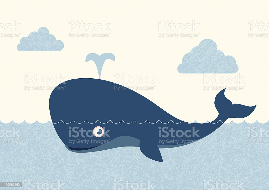 Whale royalty-free whale stock vector art & more images of animal