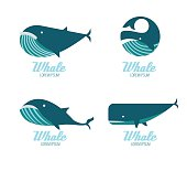 Whales icons.
