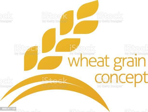 Basemenstamper Wheat Grain Logo
