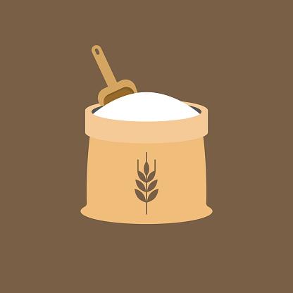wheat flour icon