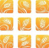 Decorative wheat