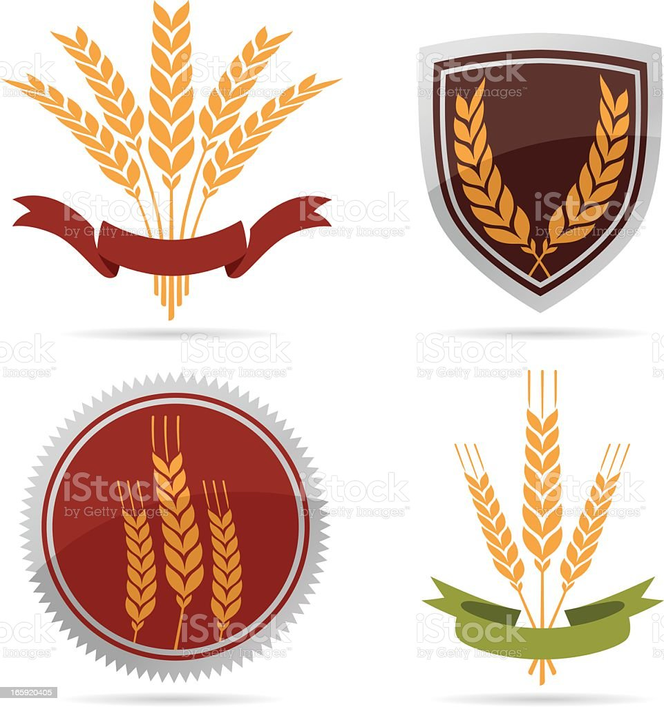 Wheat royalty-free stock vector art
