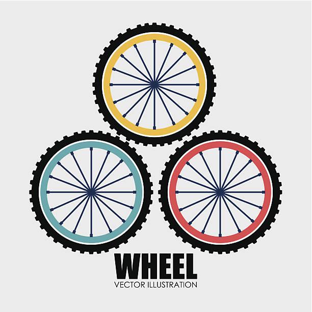 rad-design - fahrrad stock-grafiken, -clipart, -cartoons und -symbole