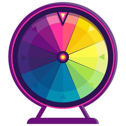 Wheel of fortune.