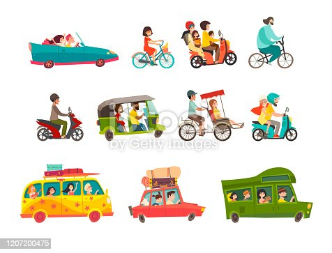 Wheel of the world vector illustration. Vehicle, transport iIsolated collection on white background