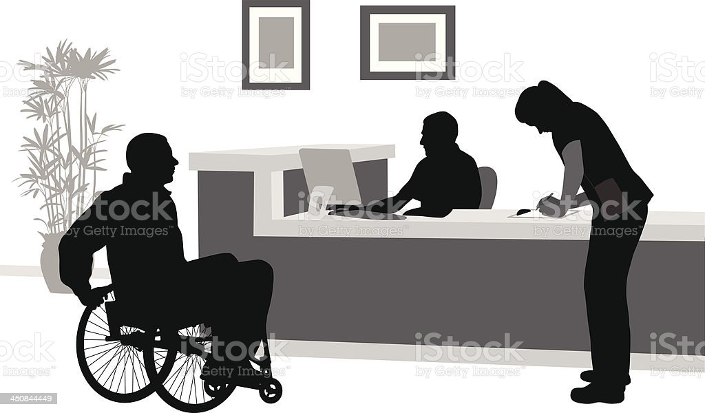 Wheelchair royalty-free wheelchair stock vector art & more images of adult