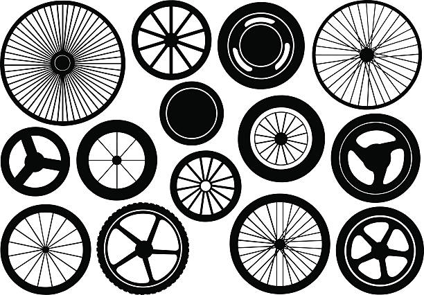 Wheel with purple spokes clipart. Free download transparent .PNG   Creazilla