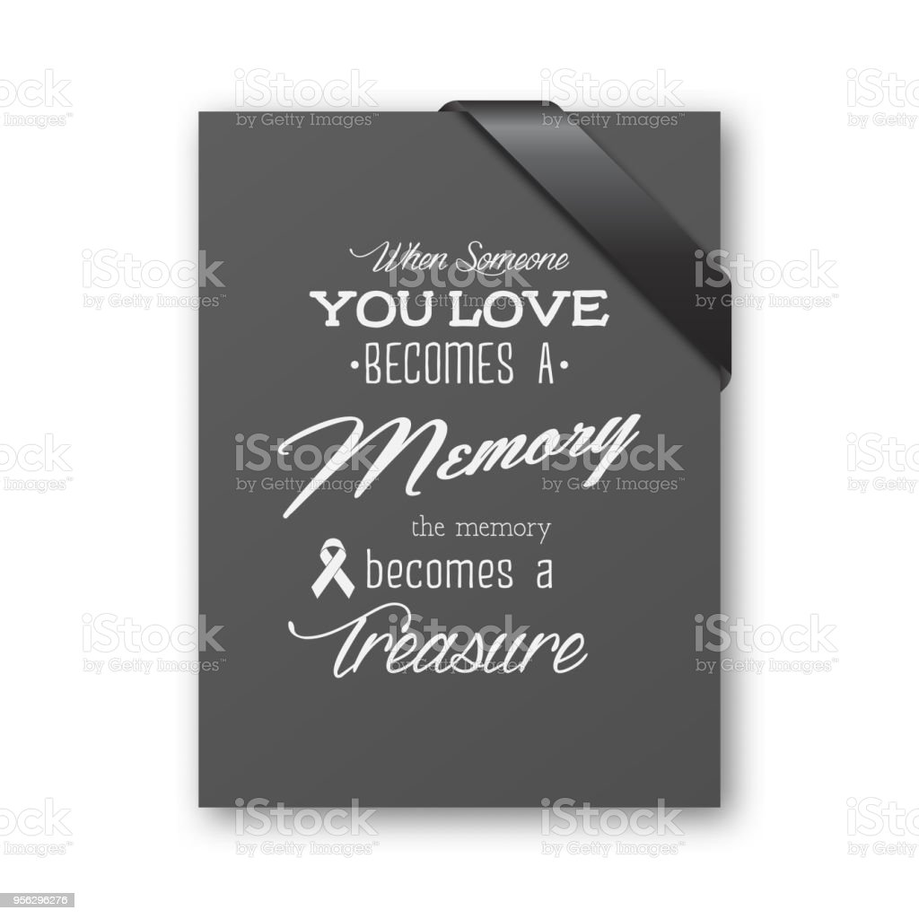 Download When Someone You Love Becomes A Memory The Memory Becomes ...