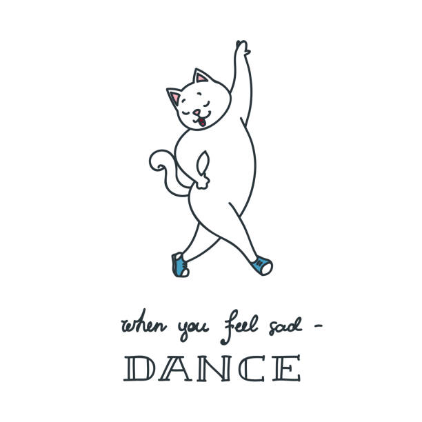Royalty Free Funny Dance Quotes Clip Art Vector Images