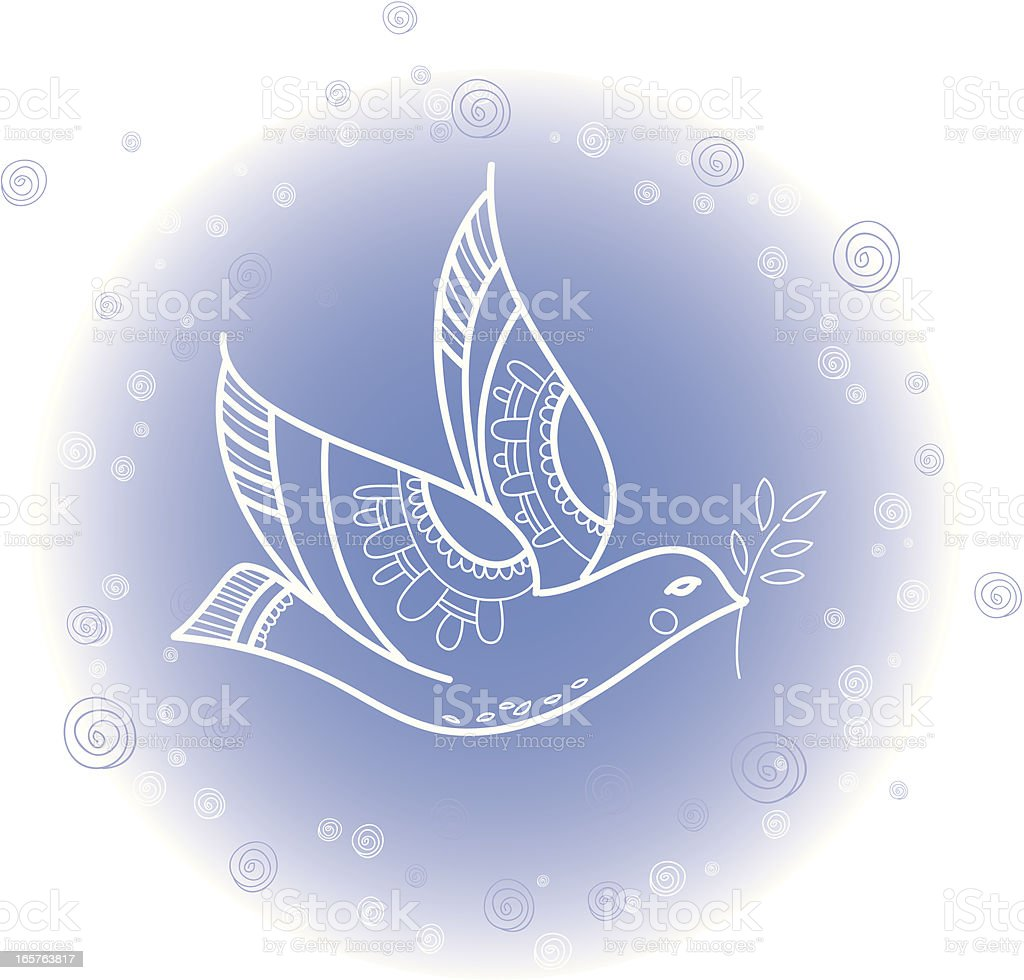 Dove royalty-free dove stock vector art & more images of allegory painting