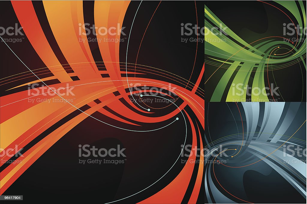 which way was I going? royalty-free stock vector art