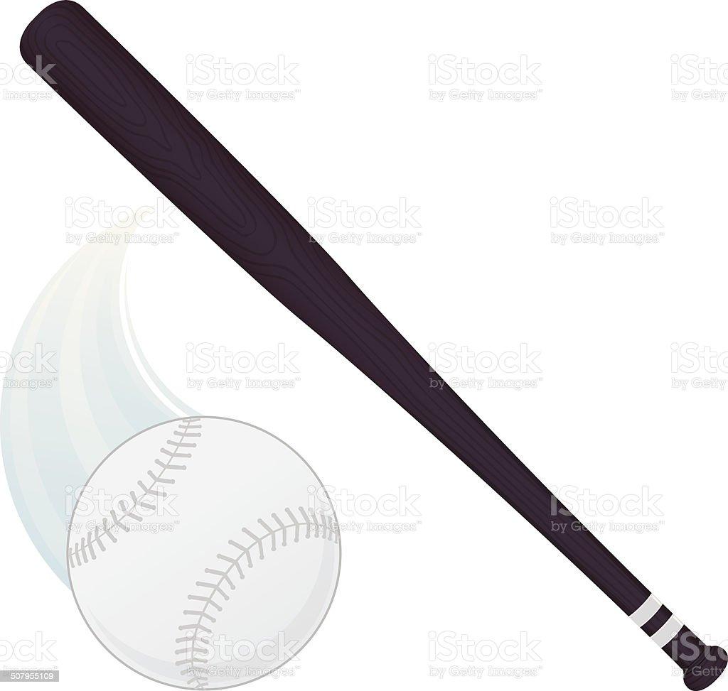 Whiffle Pilka Kij Baseballowy Stockowe Grafiki Wektorowe I Wiecej
