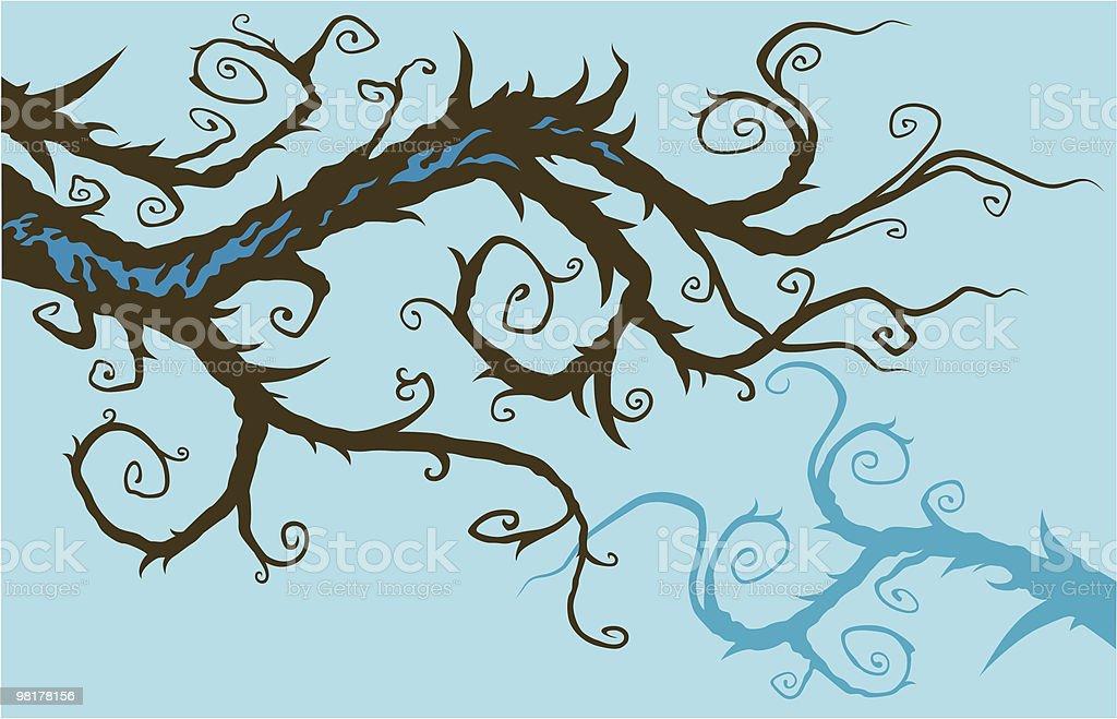 Stravadante branch stravadante branch - immagini vettoriali stock e altre immagini di albero royalty-free