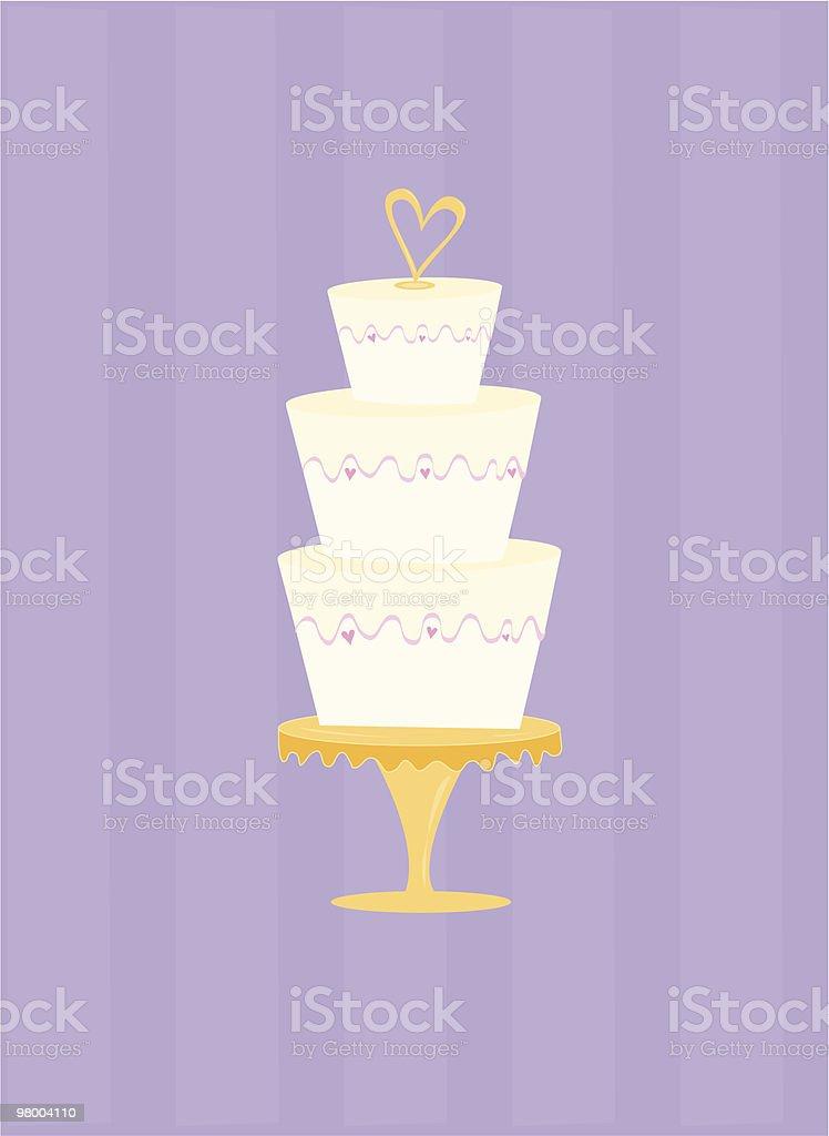 Whimsical Wedding Cake royalty-free whimsical wedding cake stock vector art & more images of bakery