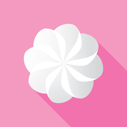 Whipped Cream Icon Flat