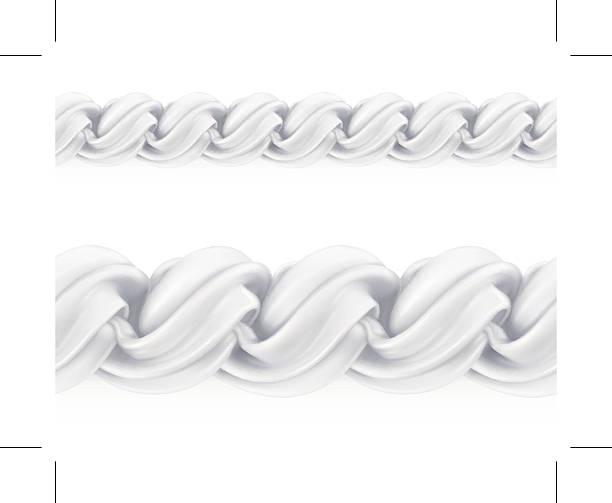 Whipped cream, vector seamless pattern mesh Whipped cream, vector seamless pattern mesh cake borders stock illustrations