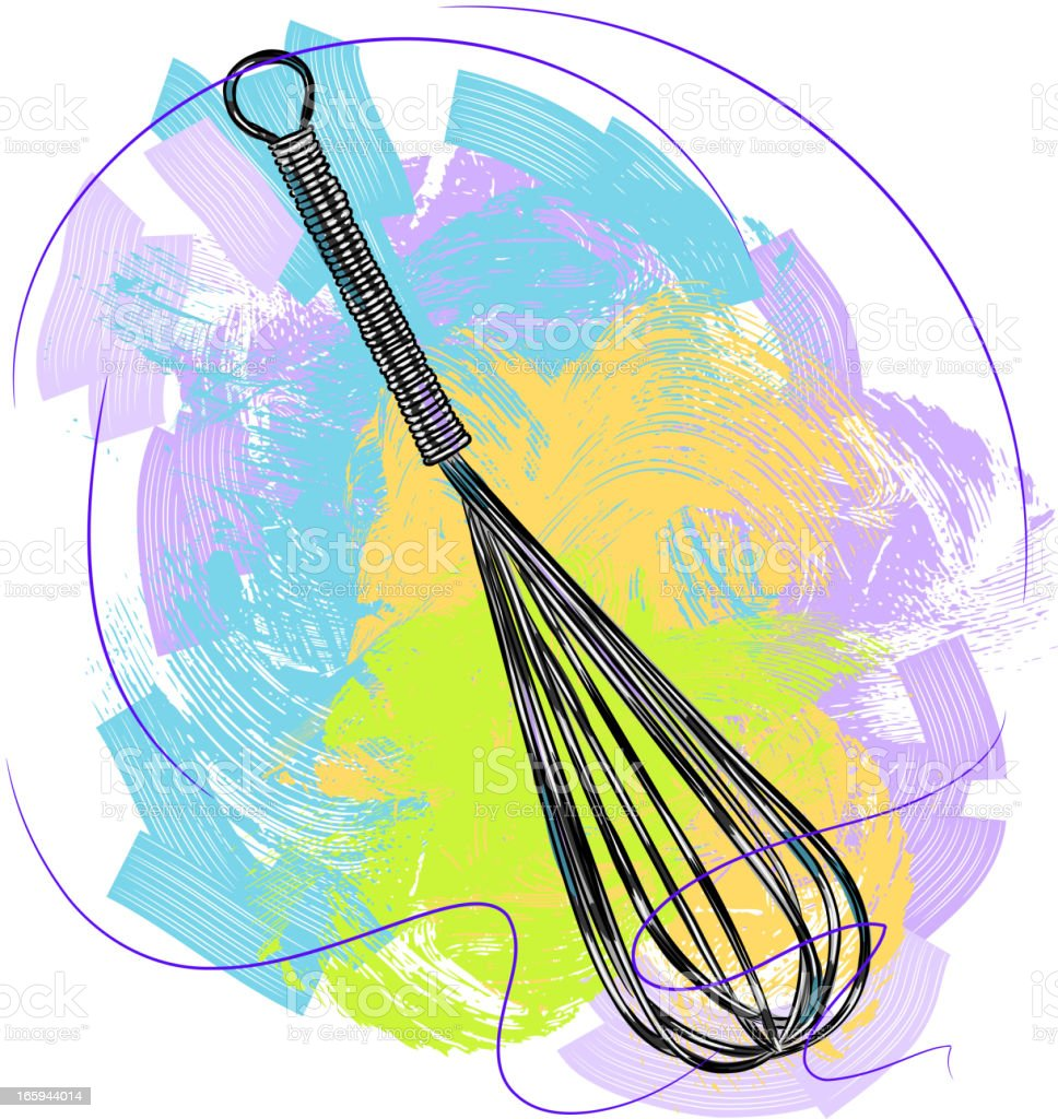 Whisk, kitchen tool royalty-free whisk kitchen tool stock vector art & more images of art and craft