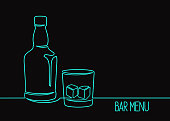 istock Whiskey one line art 1163482454