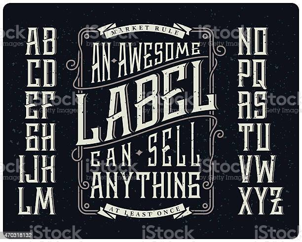 Whiskey style typeface set vector id470318132?b=1&k=6&m=470318132&s=612x612&h=vhqjd2dk5ppazleebgrzzw9dns9jofwnw2vqweeggpo=