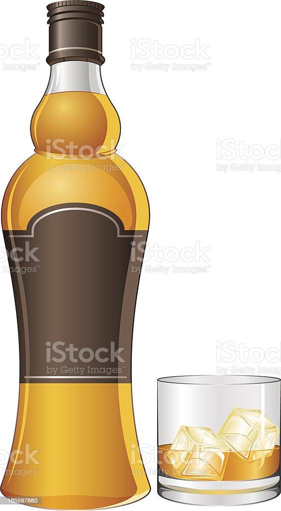 Uísque ilustração de uísque e mais banco de imagens de bebida royalty-free
