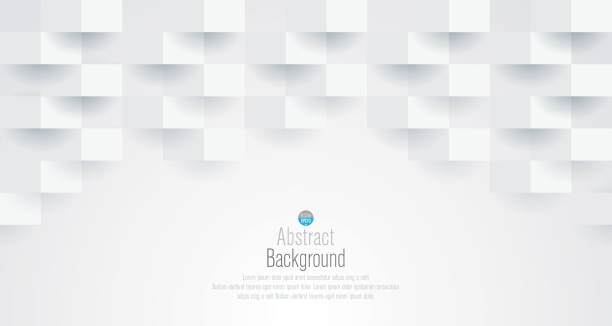 white abstract background vector. - texture backgrounds stock illustrations, clip art, cartoons, & icons