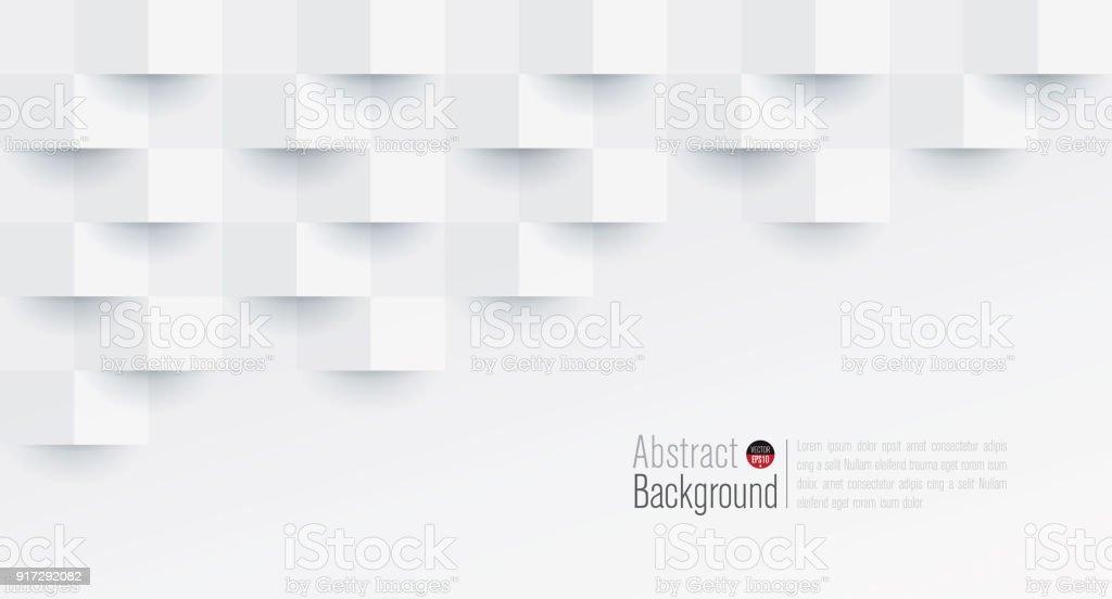 Branco Fundo abstrato vector. vetores de branco fundo abstrato vector e mais imagens de abstrato royalty-free