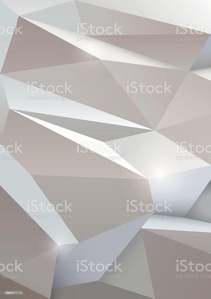 White Abstract geometric background royalty-free stock vector art