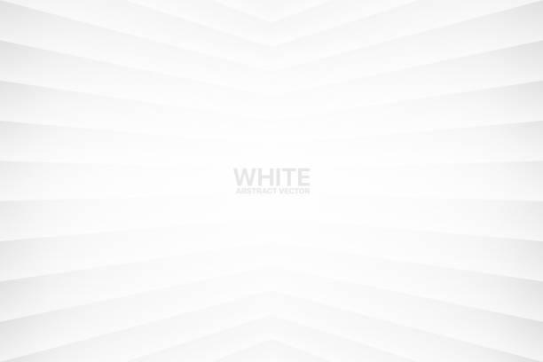 illustrazioni stock, clip art, cartoni animati e icone di tendenza di sfondo vettoriale geometrico astratto bianco - sovraesposizione effetti fotografici