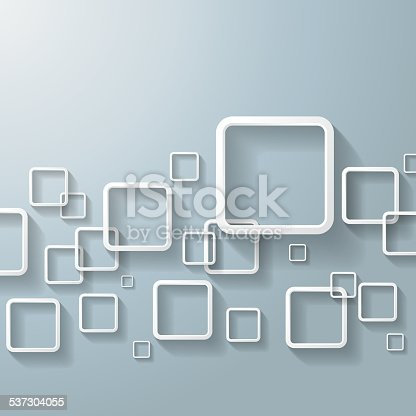 White abstract window rectangles. Eps 10 vector file.