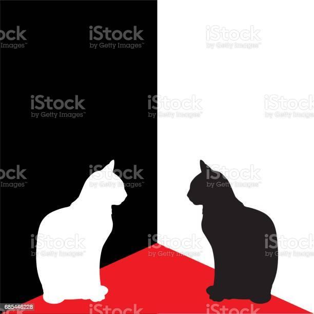 White and black cats in corner vector id685446228?b=1&k=6&m=685446228&s=612x612&h=sx eepl 0jkyh1bbfqqoxms8huxuncwkm4dkbggncik=
