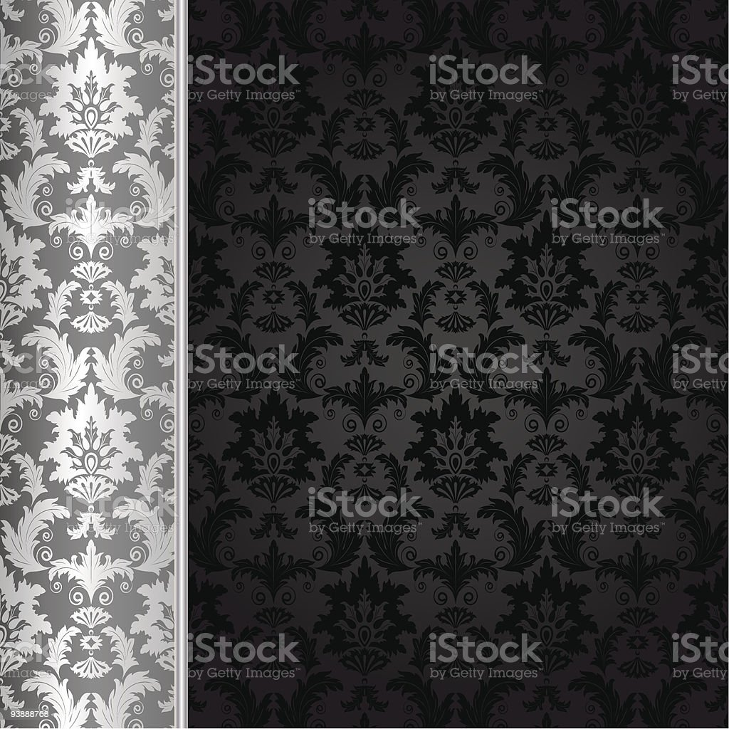 White and black contrast background design royalty-free stock vector art