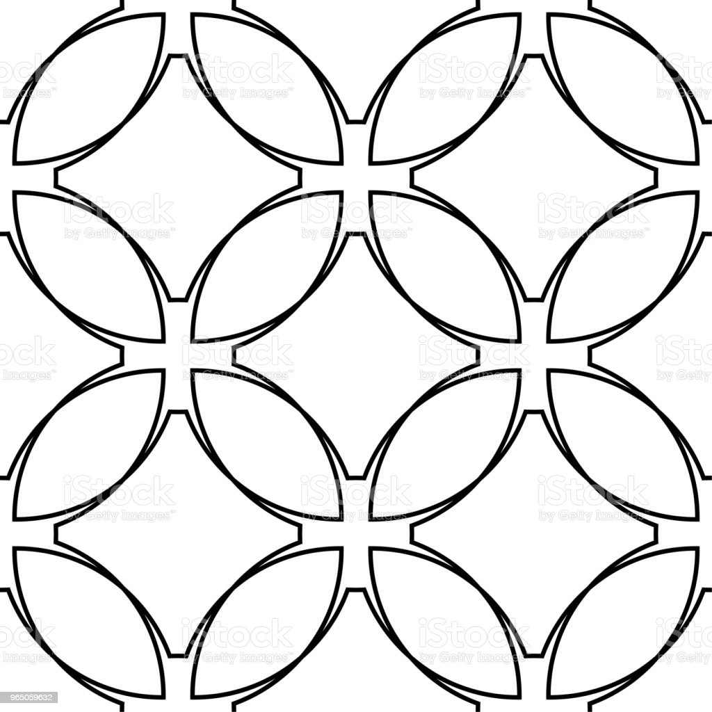 White and black geometric ornament. Seamless pattern royalty-free white and black geometric ornament seamless pattern stock vector art & more images of abstract