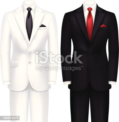 istock White and Black Tuxedo 165814376