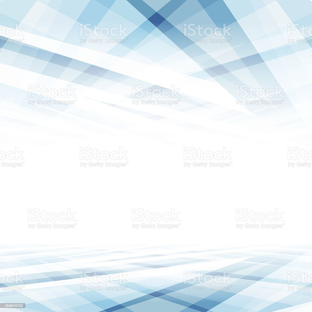 A white and blue abstract vector background vector art illustration