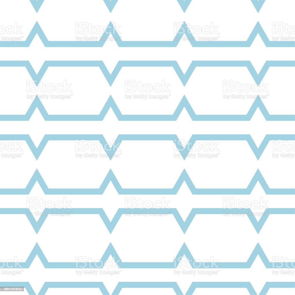 White and blue geometric ornament. Seamless pattern royalty-free white and blue geometric ornament seamless pattern stock vector art & more images of abstract