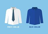istock White and Blue shirt vector illustraton 1026359738